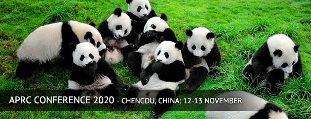 12th Annual APRC Conference in Chengdu, China 12-13th August 2020