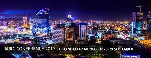 APRC Conference - Ulaanbaatar Mongolia 2017