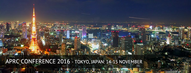 APRC Conference 2016 Tokyo, Japan